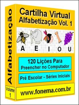 Cartilha de Alfabetização.